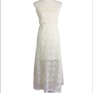 Rue 21 Strapless Lace Dress